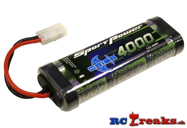 Team Orion 4000 mAh Akku 7.2V