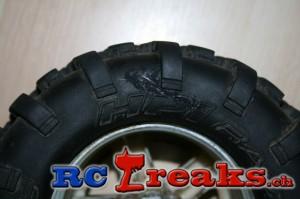 Reparierter HPI Savage Reifen