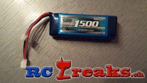 LRP VTEC Expert Line 1500mAh - 2S1P - 7.4V - 30C LiPo SP 430047